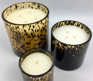 SPOTTED AMBER CANDLE